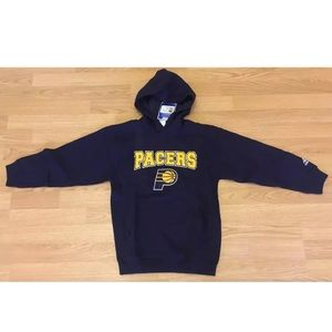 Indiana Pacers Adidas Small (8) Hooded Sweatshirt